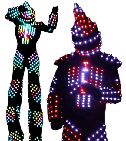 cirque-quirk-hugh-two-giant-color-led-robot-puppet-duo